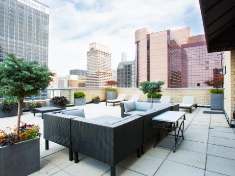 The Ritz Plaza _ 235 W 48th Street Unit 22L Terrace