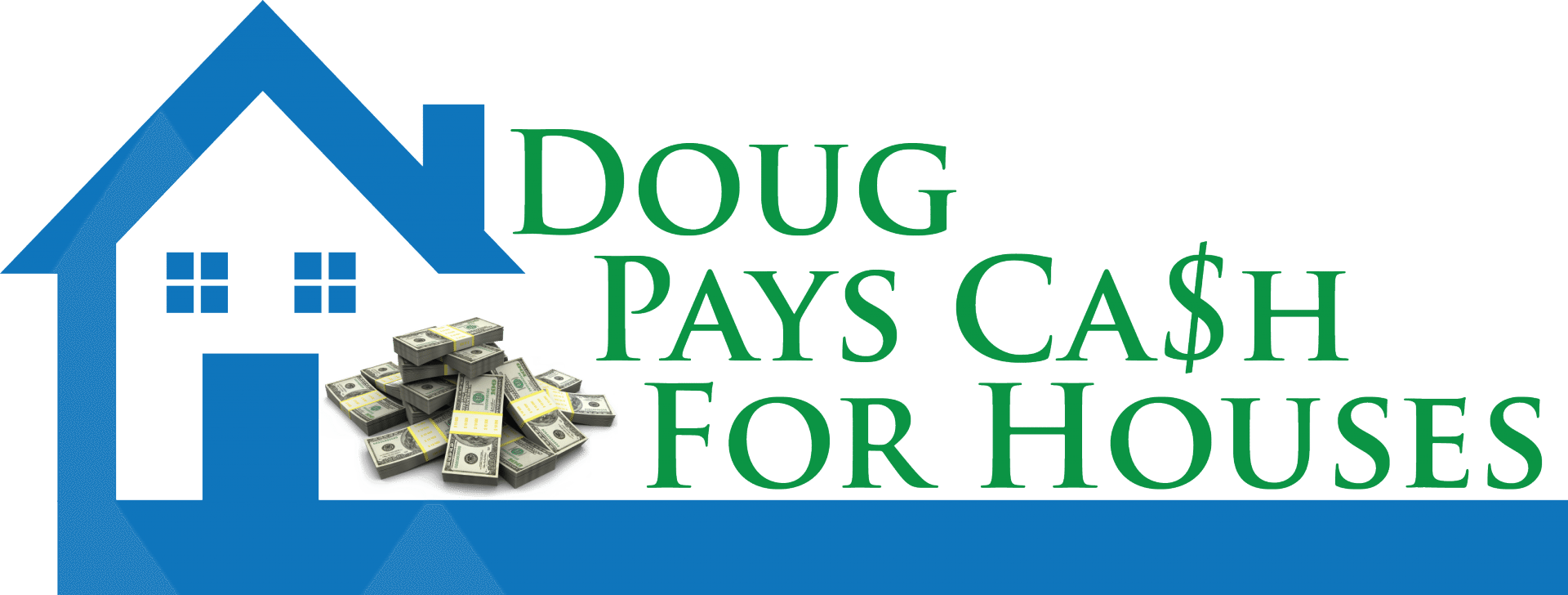 Doug Pays Cash For Houses logo