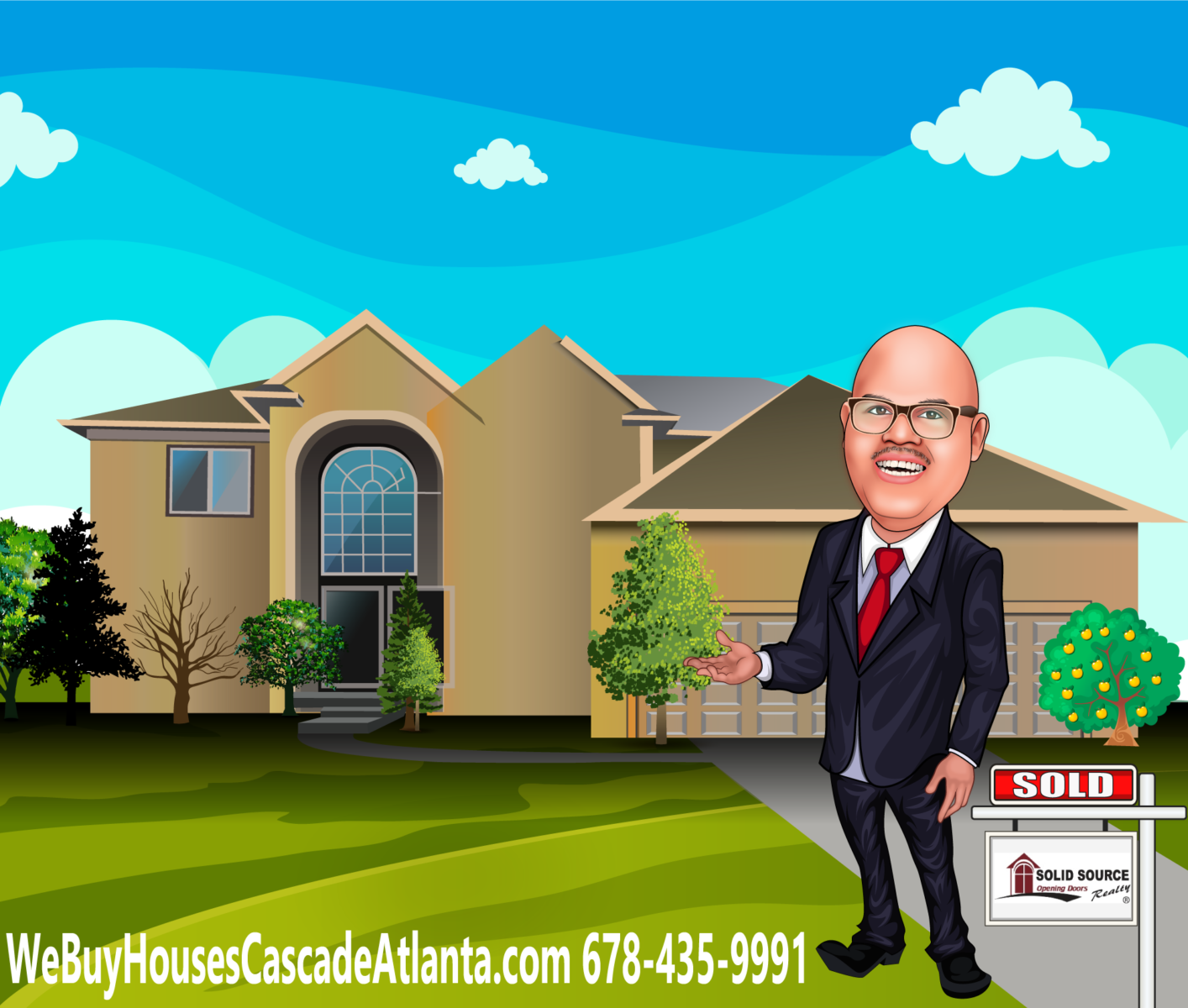 We Buy Houses Cascade Atlanta 30310, 30311, 30318 logo