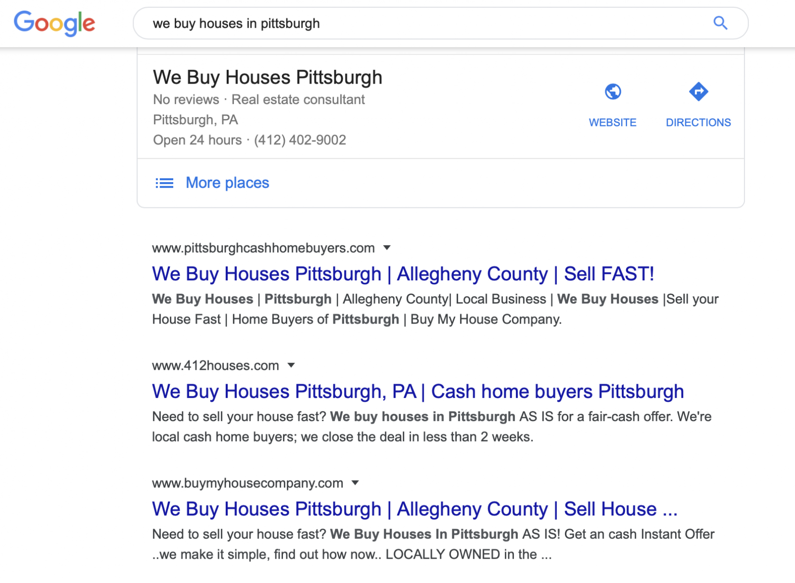 we buy houses in Pittsburgh